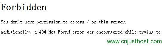 帮客户禁止apache访问非虚拟主机目录